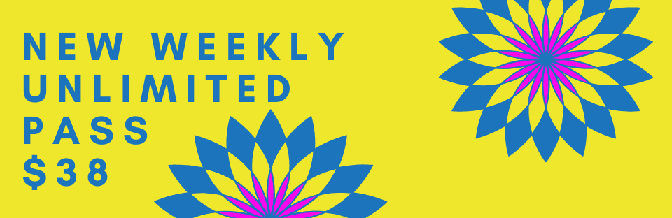 NEW Weekly Unlimited Pass Only $38